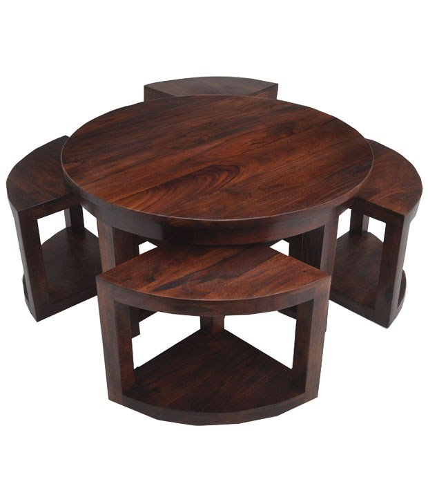 Featured Photo of Coffee Tables With Nesting Stools