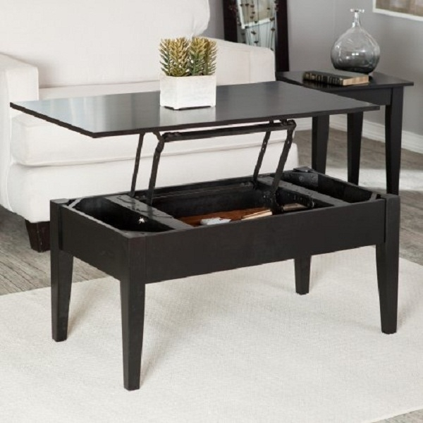 Coffee Table With Lift Top And Storage perfectly throughout Coffee Tables Top Lifts Up (Image 8 of 20)