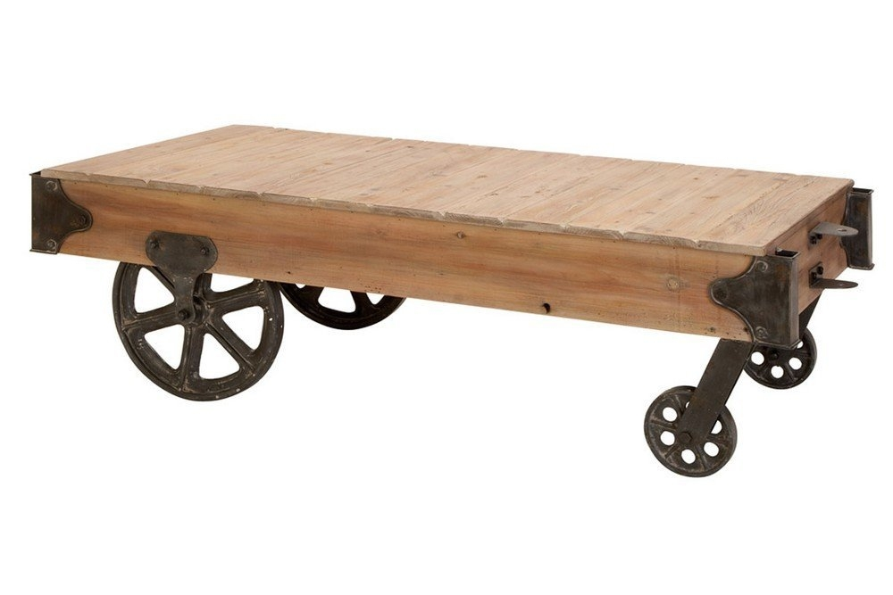 Coffee Tables With Wheels Cool Rustic Coffee Table For Coffee good inside Rustic Coffee Table With Wheels (Image 6 of 20)