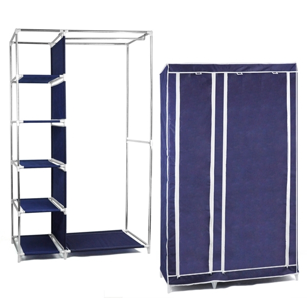 Compare Prices On Wardrobe Clothes Rail Online Shoppingbuy Low properly with regard to Large Double Rail Wardrobes (Image 25 of 30)