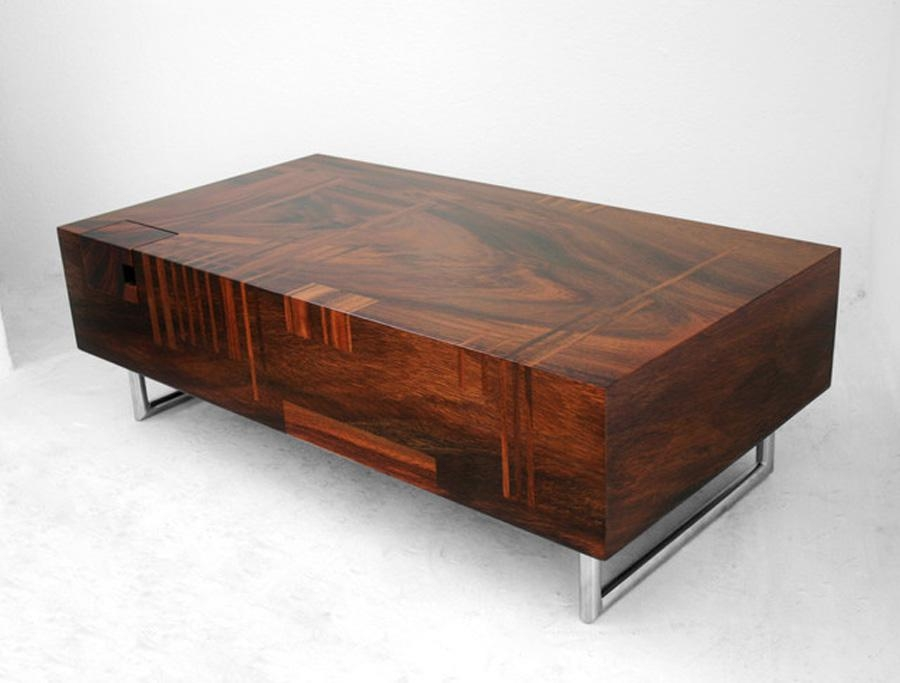 Contemporary Coffee Tables Brown Coffee Tables Circle Coffee Table good with Wood Modern Coffee Tables (Image 6 of 20)