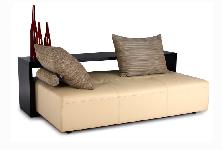 Contemporary Living Room Furniture Soho Daybed With Wooden Shelf clearly in Bedroom Sofas and Chairs (Image 9 of 20)