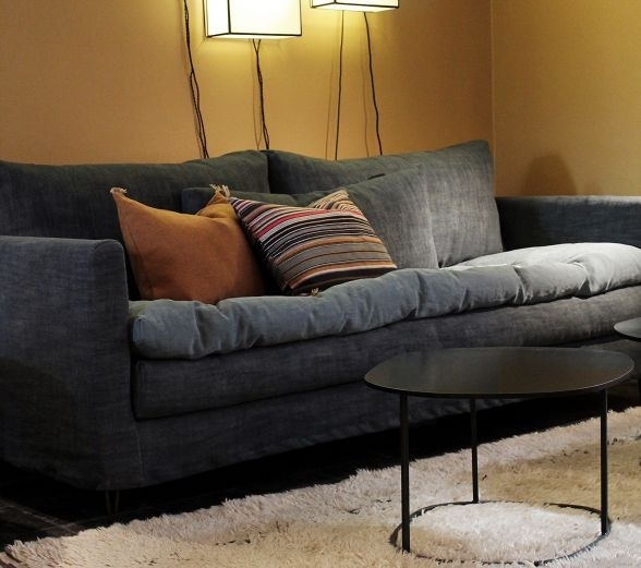 Contemporary Sofa Fabric 3 Seater With Washable Removable nicely in Sofa With Washable Covers (Image 3 of 20)