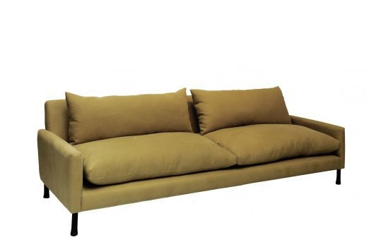 Contemporary Sofa Fabric 3 Seater With Washable Removable nicely pertaining to Washable Sofas (Image 3 of 20)