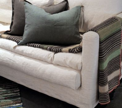Contemporary Sofa Fabric 3 Seater With Washable Removable well within Sofa With Washable Covers (Image 4 of 20)