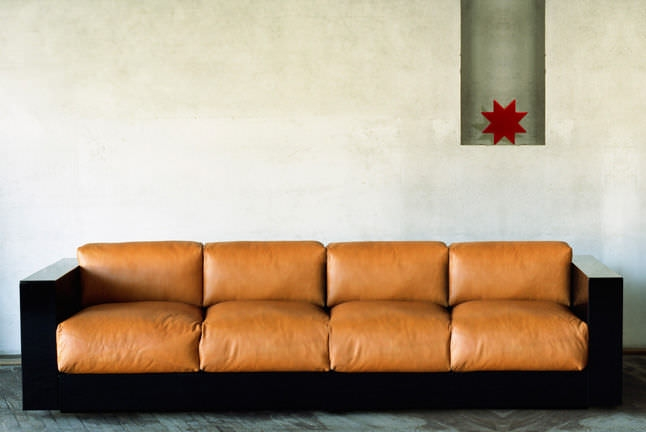 Contemporary Sofa Leather 4 Seater Multi Color Saratoga Perfectly With Four Seater Sofas (View 15 of 20)