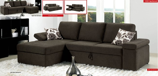 Convertible Sectional Sofa effectively with regard to Convertible Sectional Sofas (Image 5 of 20)