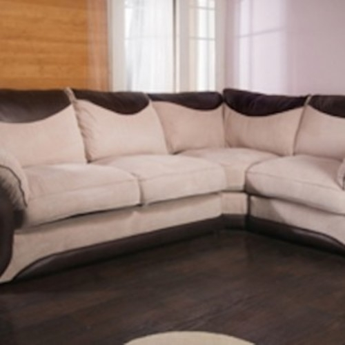 Cord Corner Sofa Dylan Corner Sofa And Swivel Chair Custom Los clearly with Corner Sofa and Swivel Chairs (Image 8 of 20)