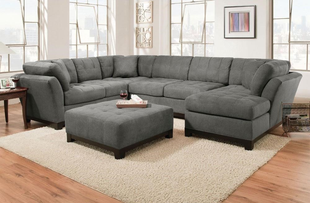 Corinthian Loxley Charcoal Right Side Facing Chaise Sectional Very Well In Corinthian Sectional Sofas (View 11 of 20)