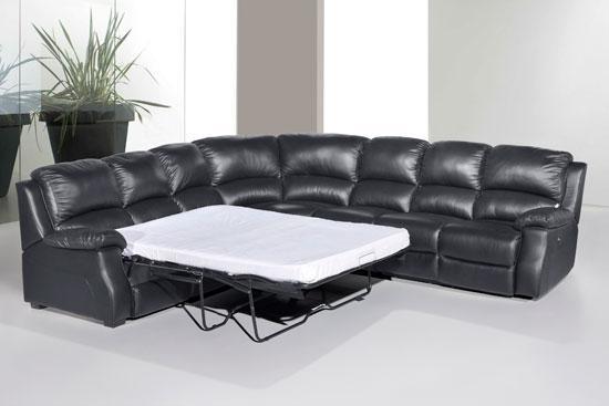 Corner Leather Sofa Leather Corner Sofa Under 500 Leather definitely intended for Leather Corner Sofa Bed (Image 3 of 20)