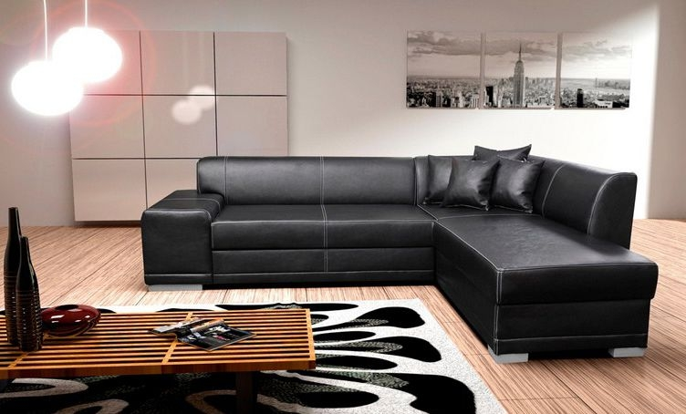 Corner Sofa Bed Maximizing Room Space Properly Regarding Leather Corner Sofa Bed (View 20 of 20)