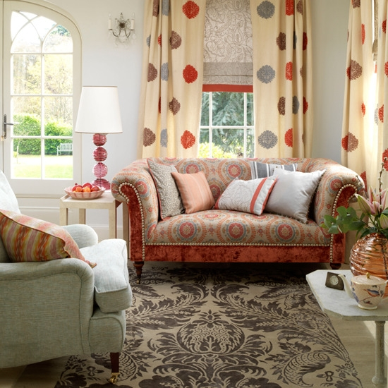 Cottage Style Furniture Living Room Well Regarding Cottage Style Sofas And Chairs (View 11 of 20)
