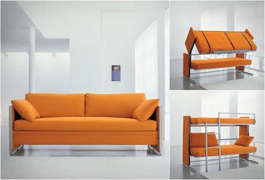 Couch Bunk Bed Convertible Sofa Bed Diy Cozy Home nicely with Cool Sofa Beds (Image 14 of 20)