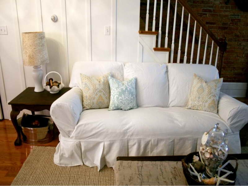 Couch Slipcovers Online Shop European Style Embroidered And perfectly with regard to Slipcovers Sofas (Image 4 of 20)