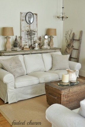 Country Cottage Sofas Foter Most Certainly Inside Cottage Style Sofas And Chairs (View 14 of 20)