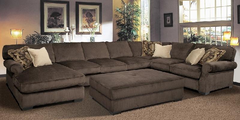 Cozysofa Designer Leather Sofas Designer Sofa Beds Part 2 definitely inside 7 Seat Sectional Sofa (Image 4 of 20)