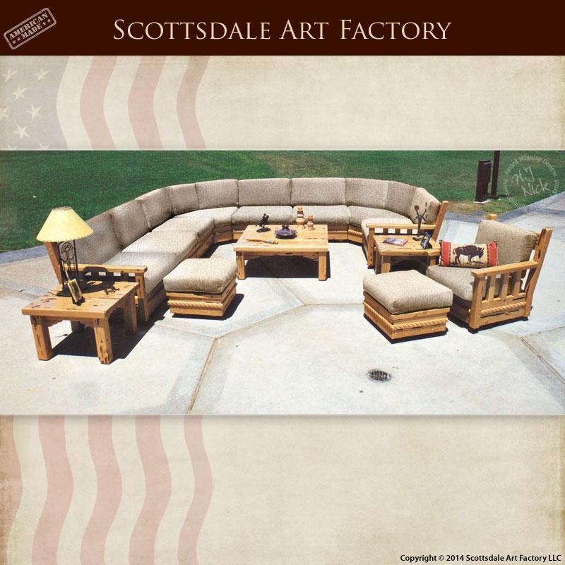 Craftsman Sofa Wood Framed Designed Greene Greene nicely pertaining to Craftsman Sectional Sofa (Image 13 of 20)