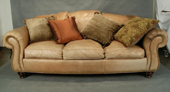 Featured Photo of Light Tan Leather Sofas