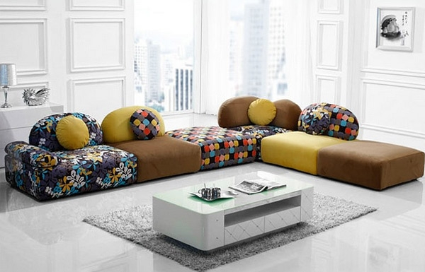 Cuddle Into This 20 Comfortable Floor Level Sofas Home Design Lover Clearly Within Comfortable Floor Seating (View 14 of 20)