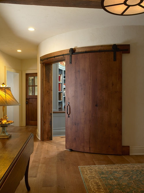Curved Sliding Door Houzz certainly regarding Curved Wardrobe Doors (Image 18 of 20)