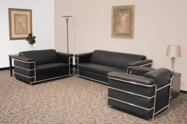 Custom Leather Traditional Design Sofa Chair Set Regarding clearly intended for Sofa And Chair Set (Image 12 of 20)