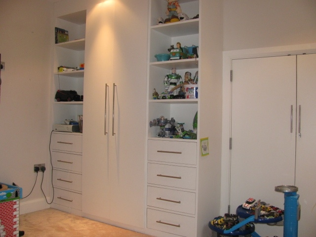 Custom Made Fitted Childrens Wardrobe Hand Made And Hand Finished good regarding Childrens Wardrobes With Drawers and Shelves (Image 26 of 30)