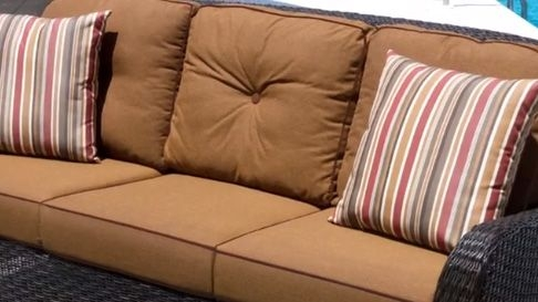 Custom Replacement Sofa Cushions 3 Backs 3 Seats well pertaining to Sofa Cushions (Image 6 of 20)