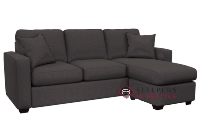 Customize And Personalize 702 Chaise Sectional Fabric Sofa very well regarding Sectional Sleeper Sofas With Chaise (Image 9 of 20)
