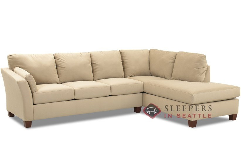 Customize And Personalize Sienna Chaise Sectional Fabric Sofa well throughout Sectional Sleeper Sofas With Chaise (Image 10 of 20)
