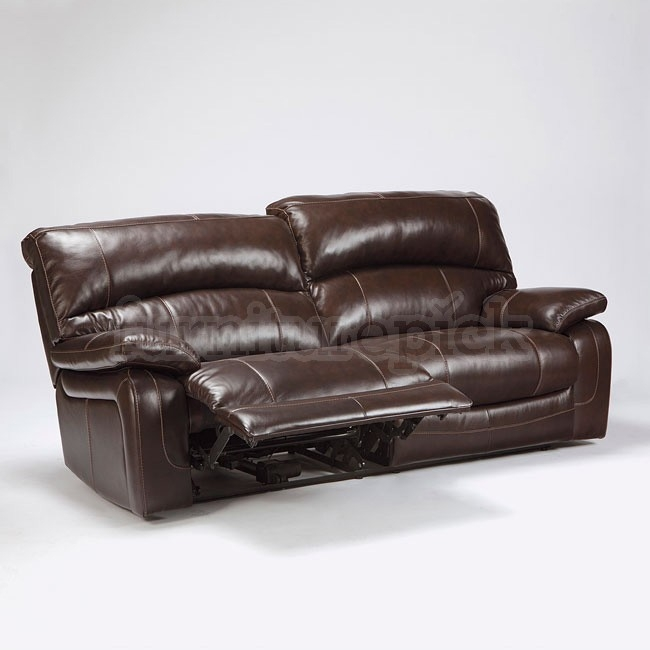 Damacio Dark Brown Reclining Living Room Set Signature Design properly pertaining to Recliner Sofa Chairs (Image 8 of 20)