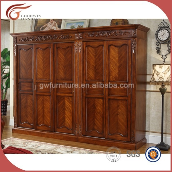 Dark Cherry Antique Solid Wood Wardrobe A126 Buy Antique Cherry definitely within Dark Wood Wardrobes (Image 14 of 20)