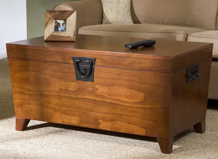 Dark Wood Chest Coffee Table Modern Coffee Tables Wooden Trunk perfectly inside Dark Wood Chest Coffee Tables (Image 10 of 20)