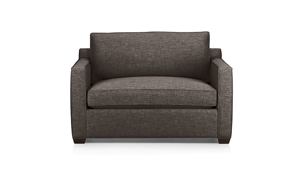 Davis Sleeper Armchair Crate And Barrel certainly with Loveseat Twin Sleeper Sofas (Image 9 of 20)