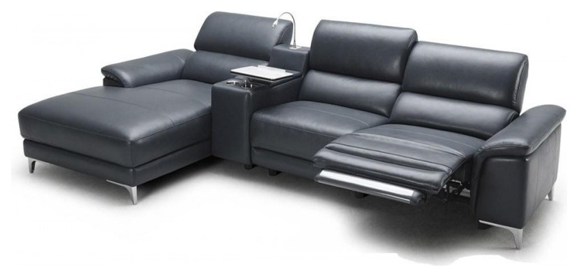Dazzling Sectional Sofas With Recliners In Living Room Modern With nicely with regard to Modern Reclining Leather Sofas (Image 6 of 20)