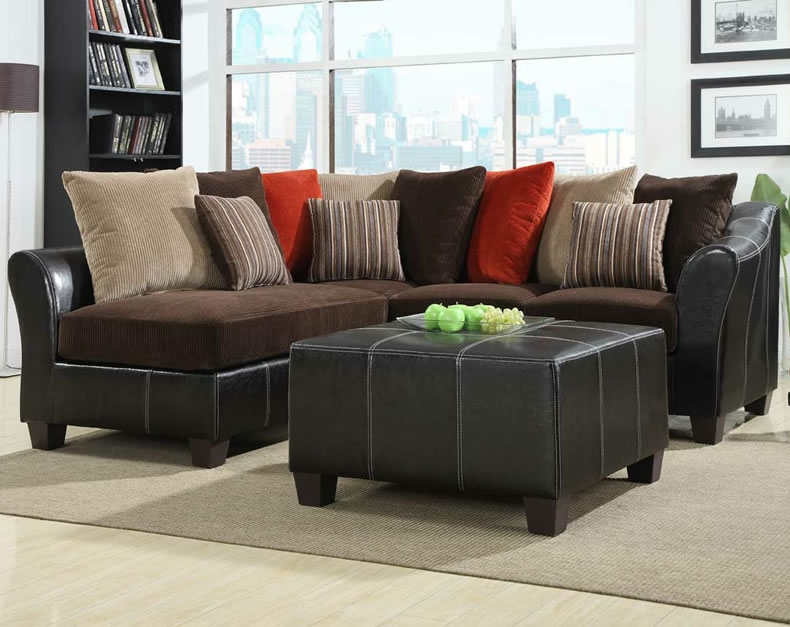 Decorate The Walls With Small Sectional Sofa Jen Joes Design perfectly regarding Small Sectional Sofa (Image 11 of 20)