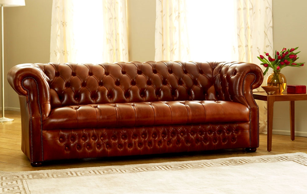 Decoration Victorian Sofa With The Leather Sofa Shop Chesterfield effectively pertaining to Victorian Leather Sofas (Image 4 of 20)