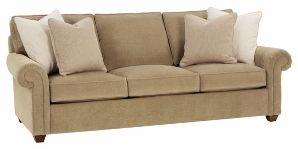 Deep Seat Fabric Upholstered Sofa Club Furniture nicely intended for Fabric Sofas (Image 3 of 20)