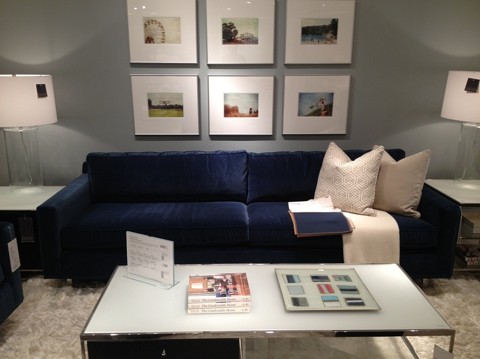 Deep Sectional Sofa Is Flexible Seating Capacity New Lighting Effectively For Dark Blue Sofas (View 9 of 20)