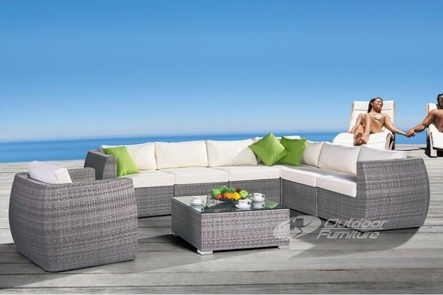 Designer Rattan Furniture Interesting Designer Outdoor Chair Good In Modern Rattan Sofas (View 20 of 20)