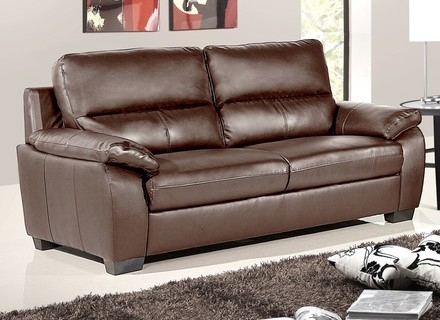 Diana Dark Brown Leather Sectional Sofa Set 10511277 Overstockcom clearly throughout Diana Dark Brown Leather Sectional Sofa Set (Image 7 of 20)