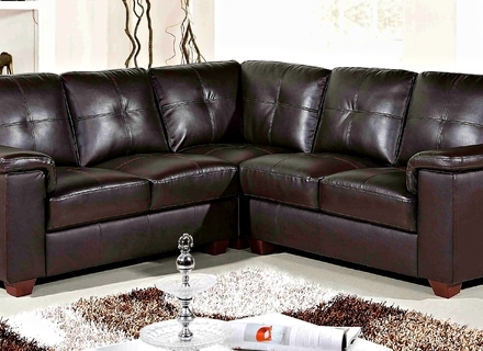 Diana Dark Brown Leather Sectional Sofa Set 10511277 Overstockcom perfectly inside Diana Dark Brown Leather Sectional Sofa Set (Image 12 of 20)
