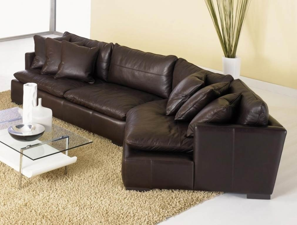Diana Dark Brown Leather Sectional Sofa Set Sofa Menzilperde properly inside Diana Dark Brown Leather Sectional Sofa Set (Image 16 of 20)