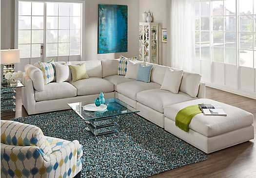 Discount Cindy Crawford Home Cros Street Left 4 Pc Sectional clearly intended for Cindy Crawford Home Sectional Sofa (Image 9 of 20)