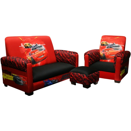Disney Cars Drift Toddler Sofa Chair And Ottoman Set My certainly with regard to Disney Sofa Chairs (Image 12 of 20)