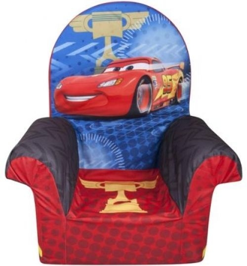 Disney Chair Cars 2 High Back Children Kids Toddler Chairs Safe most certainly inside Disney Sofa Chairs (Image 13 of 20)