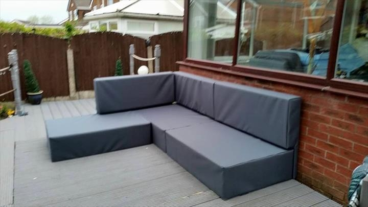 Diy Pallet Sectional Sofa Tutorial very well with Diy Sectional Sofa (Image 15 of 20)