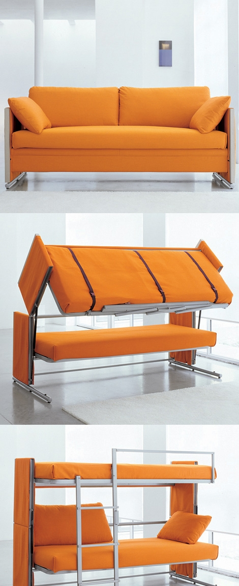 Doc Is A Sofa That Turns Into A Bunk Bed good in Cool Sofa Beds (Image 15 of 20)