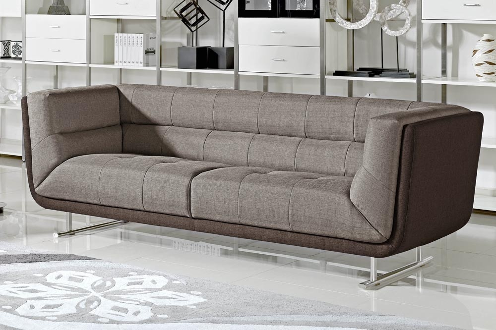 Dominic Modern Two Tone Sofa certainly in Two Tone Sofas (Image 8 of 20)