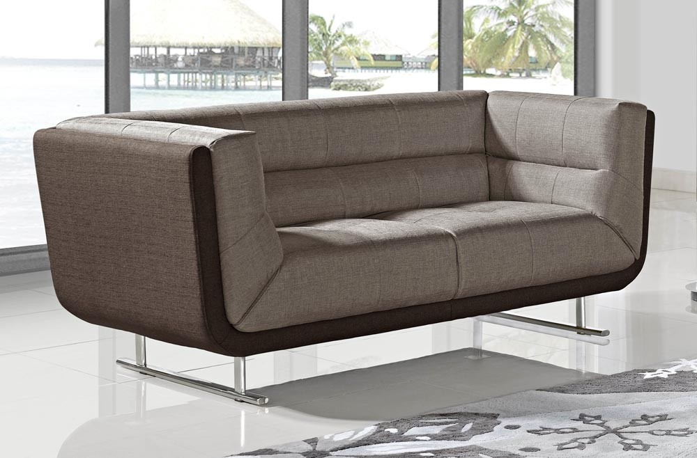 Dominic Modern Two Tone Sofa most certainly throughout Two Tone Sofas (Image 9 of 20)