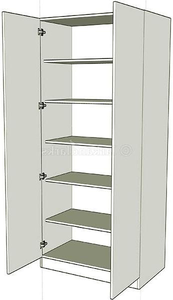 Double Wardrobe Shelf Units Lark Larks perfectly regarding Double Wardrobe With Drawers and Shelves (Image 21 of 30)